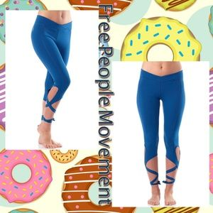 Free People Movement Turnout Blue Legging